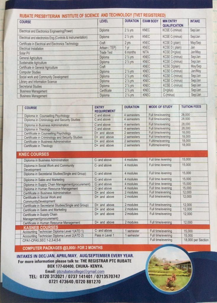 Bronchure/Leaflets page 2
